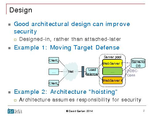 Security by design — If software is eating the world, are we safe? (Discussion, SECR-2014).pdf