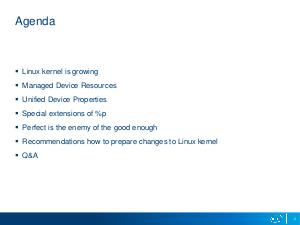 Typical mistakes when submitting a new code to Linux kernel (Andy Shevchenko, LVEE-2017).pdf
