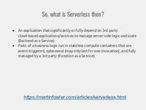 What is serverless and how to live with it? (Nikolay Markov, SECR-2017).pdf