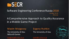 A Comprehensive Approach to Quality Assurance in a Mobile Game Project (Maxim Mozgovoy, SECR-2018).pdf